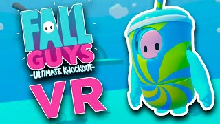 FALL GUYS VR is a NIGHTMARE!  - VRChat on Oculus Quest