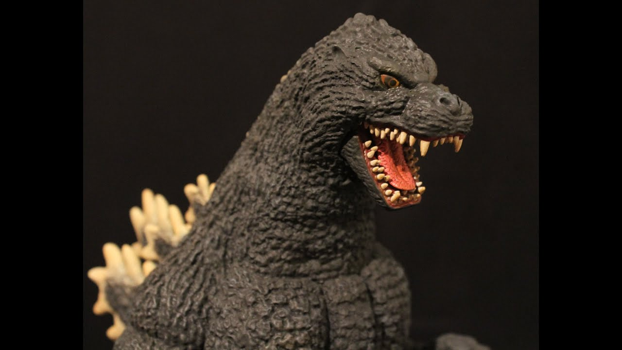 X-Plus 30cm Godzilla 1989 - YouTube
