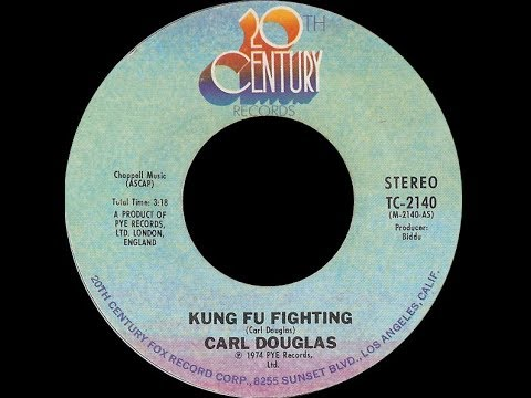 Carl Douglas ~ Kung Fu Fighting 1974 Disco Purrfection Version