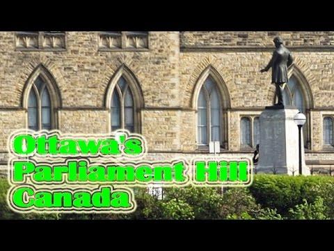 The Travel in Ottawa's Parliament Hill,Canada