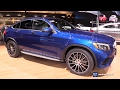 2017 Mercedes GLC Class GLC 300 4Matic Coupe - Exterior, Interior Walkaround -2017 Detroit Auto Show