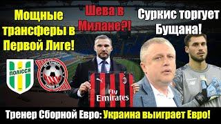 Тренер Испании Украина выиграет Евро Шевченко ждет звонка из Милана Трансферы Первой Лиги