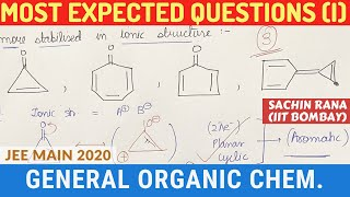 1. GOC | Most Expected Numerical Questions | JEE Main 2020