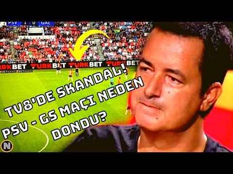 TV8'de Yayın Skandalı !! PSV – Galatasaray Maçı Bahis Reklamı NEDENİ ile Kesildi !!