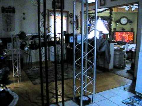 Mobile DJ Truss Totems  YouTube