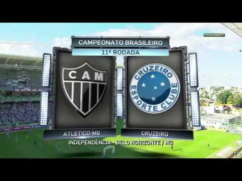 Melhores Momentos - Atletico MG 3x1 Cruzeiro - Brasileirao 2017