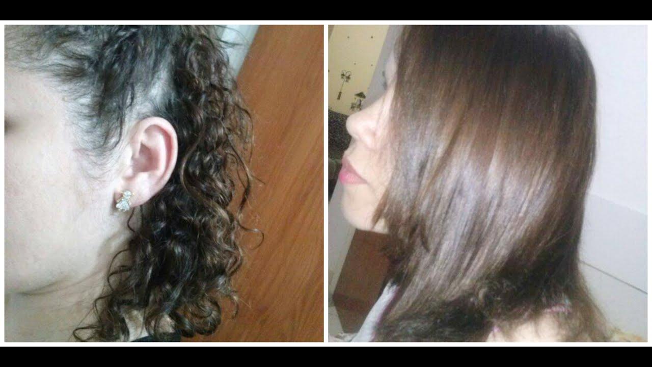 Botox capilar alisa o cabelo aula