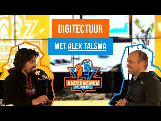 Digitectuur toepassen bij de beste bibliotheek ter wereld met Alex Talsma