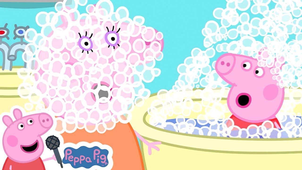 Download Peppa Pig Bath Song   Miss Polly   Peppa Pig Nursery Rhymes & Kids Songs