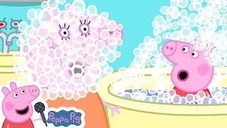 Peppa Pig Bath Song   Miss Polly   Peppa Pig Nursery Rhymes & Kids Songs