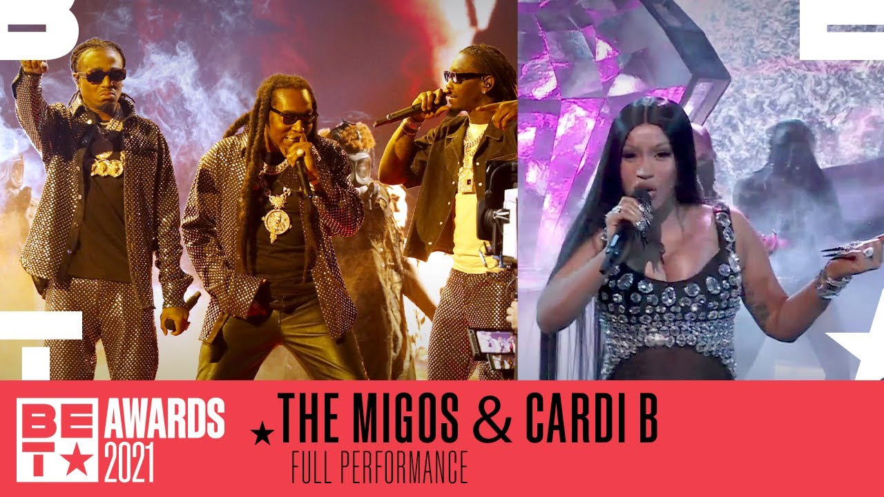 Download Cardi B Joins Migos For A Turnt Up Performance of 'Straightenin' & 'Type Sh*t'   BET Awards