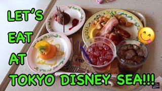 LET'S EAT AT TOKYO DISNEY SEA