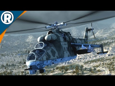MIGHTY MI-24 GAMEPLAY - Air Missions: HIND