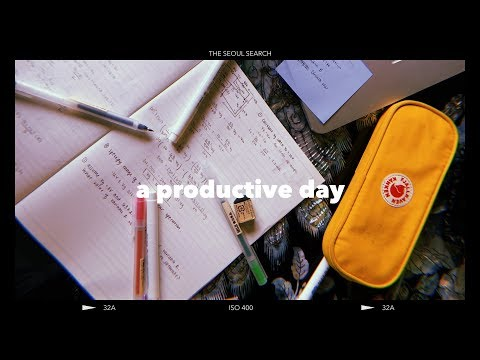 A Productive Day ◇ Michelle Choi | The Seoul Search