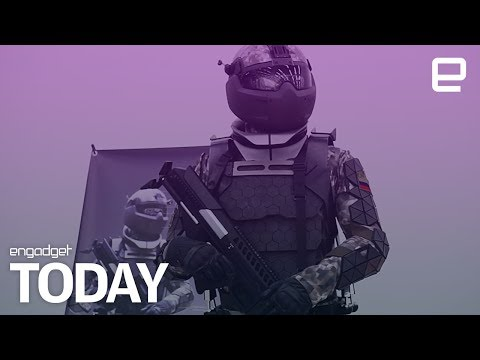 Russia is building exoskeleton suits for its military | Engadget Today