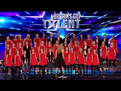 Britain's Got Talent 2017 Perfect Pitch Creation Choir Sing Disney Medley Full Audition S11E04