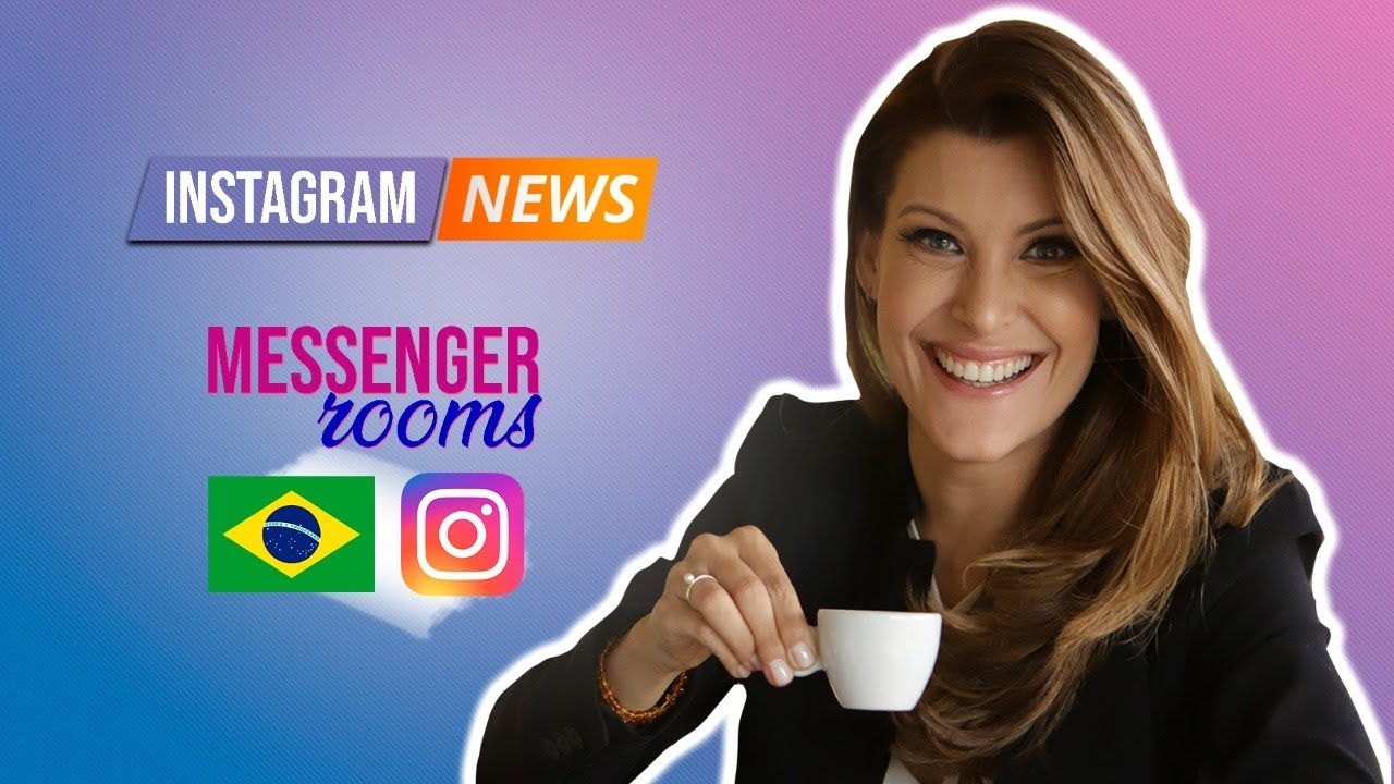 Messenger Rooms liberou no Face do Brasil e que vai liberar no Instagram DM já já. #messengerrooms
