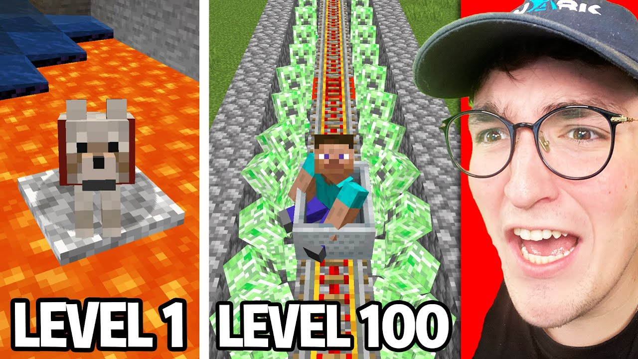 Testing Minecraft Anxiety From Level 1 To 100
