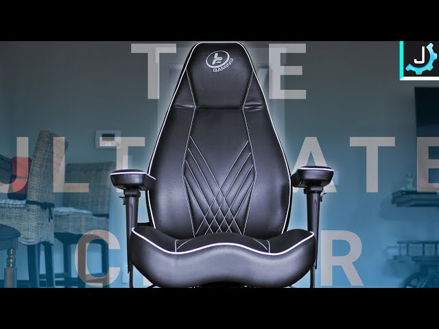 The MOST Comfortable Office/Gaming Chair. I Mean It. - LF Gaming Stealth Chair Review