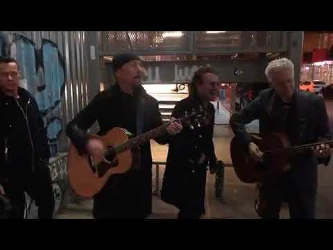 U2 - Get Out of Your Own Way (live from 26th beneath the Highline, New York City)
