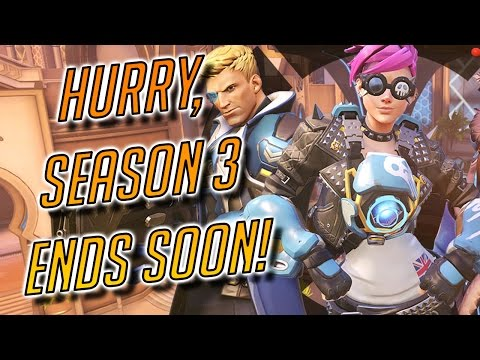 OVERWATCH COMPETITIVE SEASON 3 ENDS SOON, HURRY UP!- PVP Live