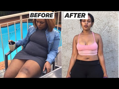 HOW TO LOSE WEIGHT WITHOUT DIET OR GYM/WEIGHTLOSS SERIES PART 1/SOUTH AFRICAN YOUTUBER