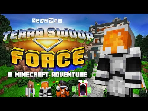 Minecraft - Terra Swoop Force - The Best Map I Have Ever Played!