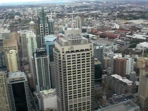 Niklas' Work & Travel Video-Tagebuch, Niklas' Ausblick vom Sydney-Tower