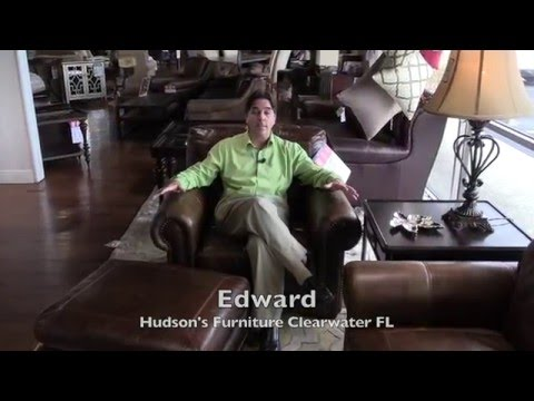 Clearwater furniture custom in-home design, quality leather furniture, Hudson's