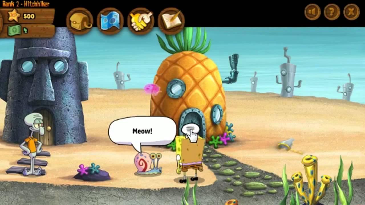 игры доктор губка боб