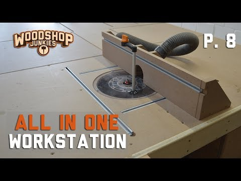 Cheap DIY Router Table Full Build - Final Tool Added To All-In-One Woodworking Station