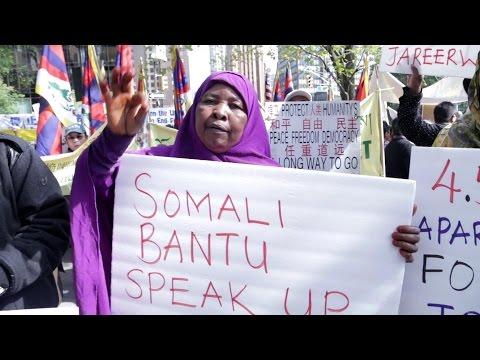Somali Bantu Speak up For your Right
