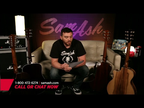 Sam Ash LIVE - Episode 46: Taylor 2017 Limited Editions