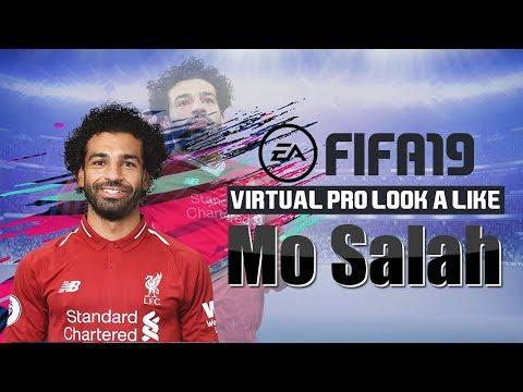 FIFA19 | VIRTUAL PRO LOOK A LIKE | MO SALAH