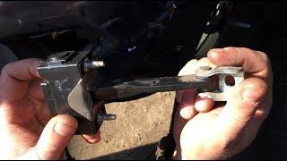 Lada Vesta - доработка ограничителей дверей, или правильная фиксация двери