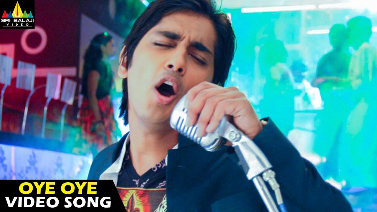 Download Oye Songs | Oye (Title Song) Video Song | Telugu Latest Video Songs | Siddharth | Sri Balaji Video