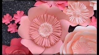 BEAUTIFUL DIY GAINT FLOWER CENTER (Tutorial): EASY DIY FLOWER CENTER