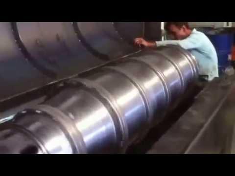 Decanter centrifuge (Dekantör Santrifüj )