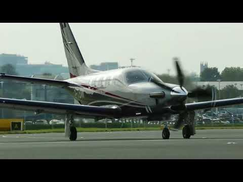 ✈ Socata TBM-910 2-TBMI Departure From London Southend Airport SEN EGMC