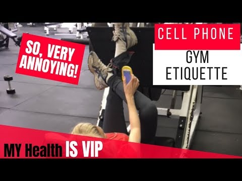 Cell Phone Etiquette In The Gym