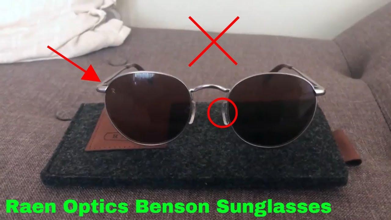 0f8a667c0b ✅ How To Use Raen Optics Benson Sunglasses Review