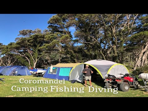 Diving,Fishing,Camping Coromandel !