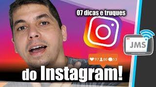 07 Truques do Instagram que Você PRECISA Saber!