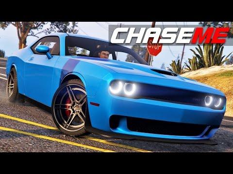 Chase Me in GTA V E26 - Dodge Challenger Hellcat