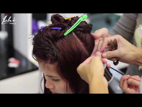 Nối tóc bằng sợi FiberGlass đẹp tự nhiên
