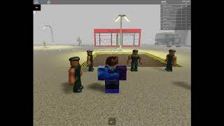 PLAYING AREA 51 IN ROBLOX ;D!