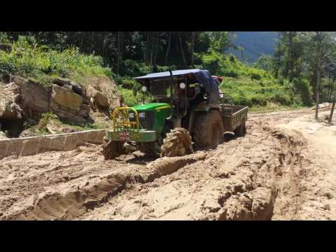 Condition of road to my village Menchhyam rural municipality Tehrathum, Nepal