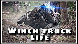 2019 Patrolapart Winch challange Day 1 - Winch truck life 1-3