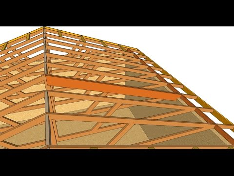 How To Turn Flat Engineered Roof Truss System into Cathedral Ceiling – Home Remodeling