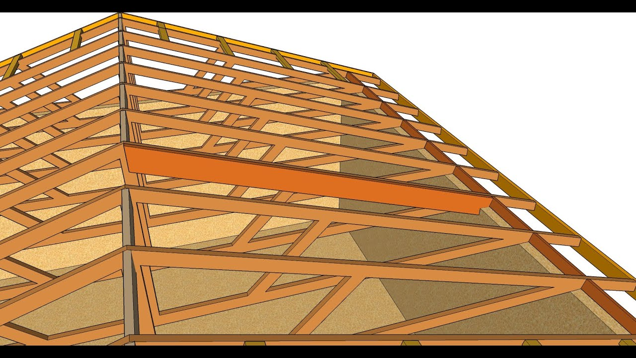 How To Turn Flat Engineered Roof Truss System Into